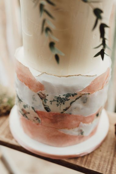 Ellie's Cakery Wedding Cake | Country Boho Inspiration in the Woodlands of Happy Valley Norfolk | Cara Zagni Photography