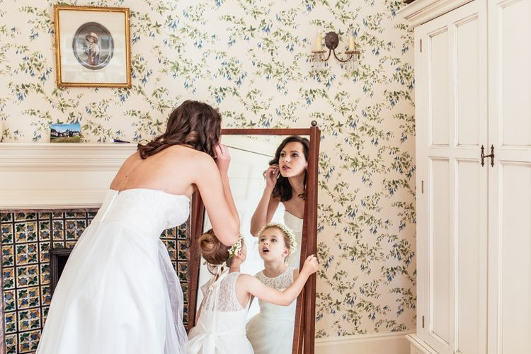 Bride Preparations at Plas Dinam Country House Wedding Venues in Wales  Images by Cassandra Lane Photography
