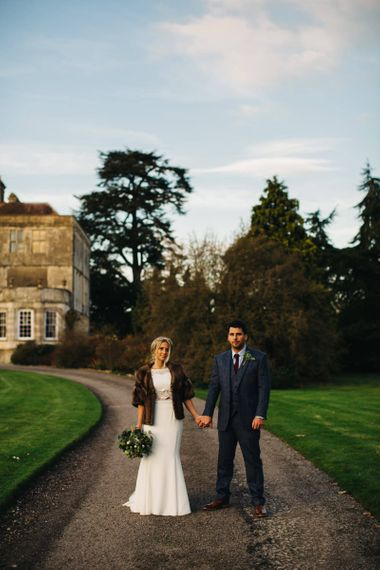 Country House Wedding Venue ASOS Bridesmaids Dresses at Elmore Court Image by Richard Skins Photography