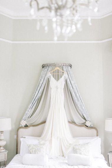 Jenny Packham Bridal Gown shot by Sarah Jane Ethan Photography at Middleton Lodge