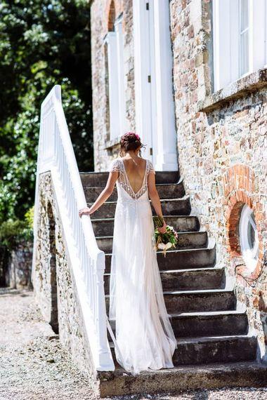 Launcells Barton Bride by Pete Cox Photography