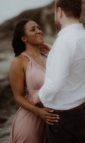 intimate engagement photography by Emily Black Photography