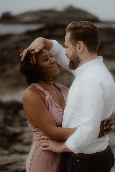 Intimate beach portraits by Emily Black Photography