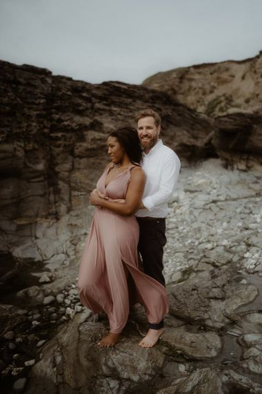 Emily Black Photography engagement shoot in Cornwall