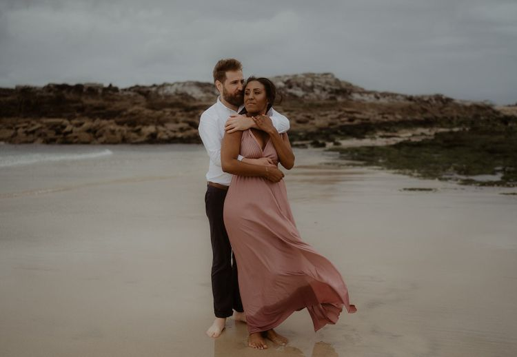 Engagement session in Cornwall