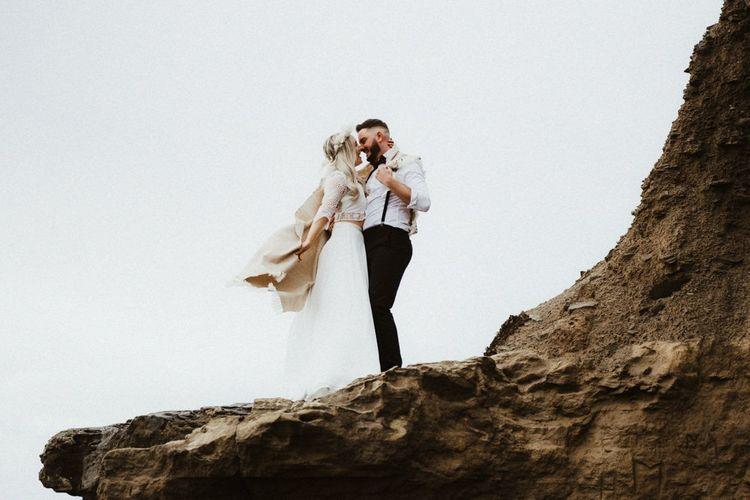 Devon elopement wedding photography