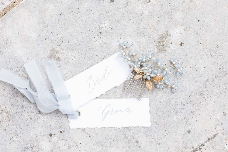 Peony & Rose Wedding Stationery | Effortless French Chic at Hale in Hampshire | Charlotte Wise Fine Art Photography