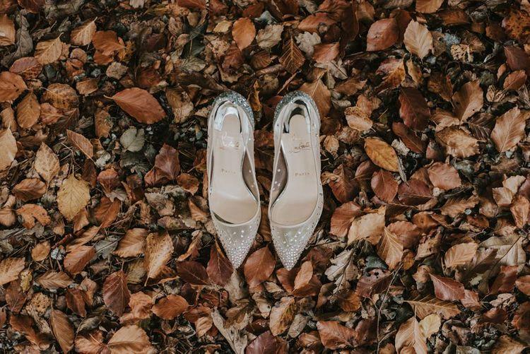 Christian Louboutin Follies Strass Wedding Shoes