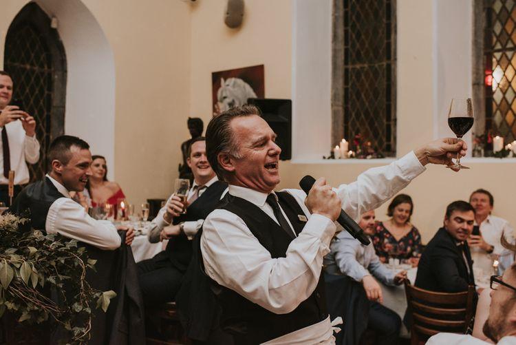 Singing Waiter Wedding Entertainer