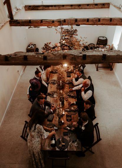 September 2020 wedding reception