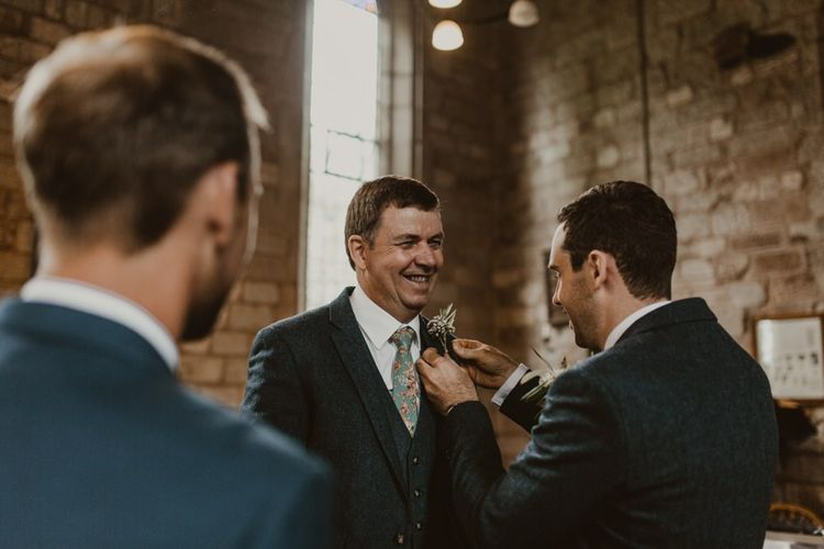 Groom and groomsmen preparations