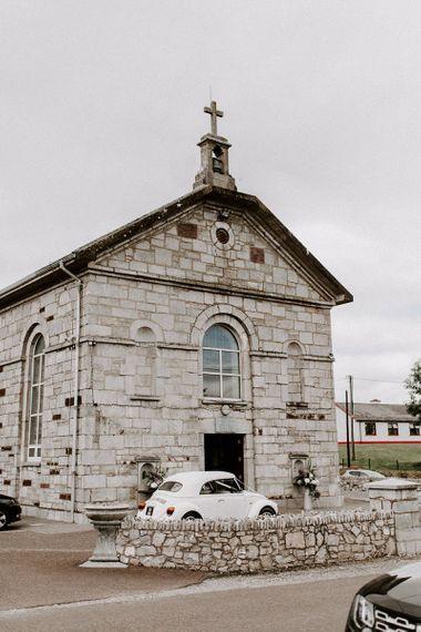 Church wedding ceremony for Summer wedding in Ireland