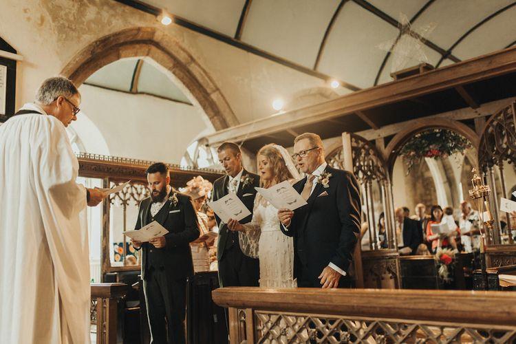 Eliza Jane Howell wedding dress for church ceremony
