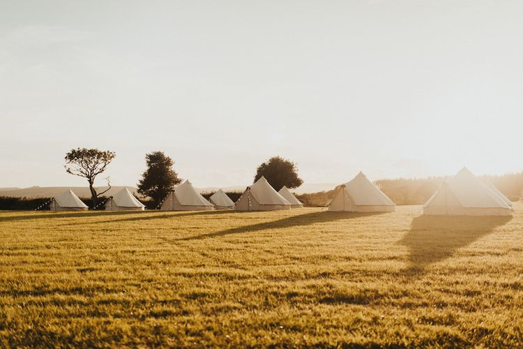 Glamping for wedding guests