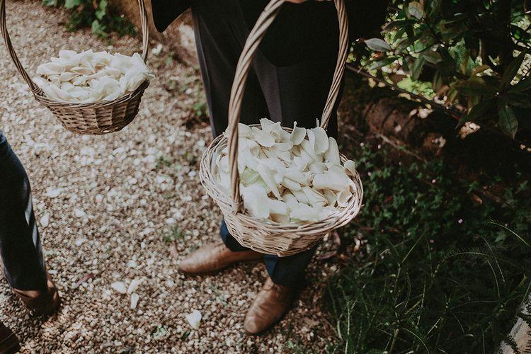 Confetti Filled Baskets