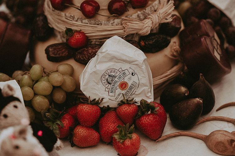 Alternative Cheese Wedding Cake