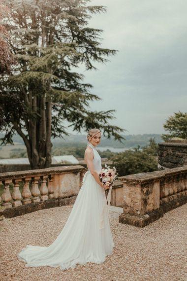 Stella McCartney Wedding Dress With Charlie Brear Skirt Over Lay