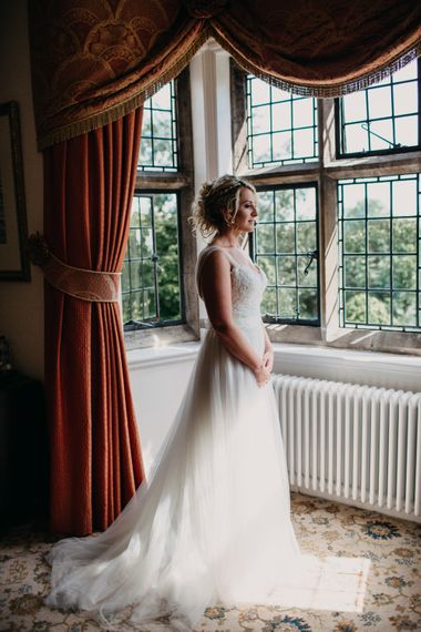 Getting Ready | Northamptonshire wedding at Plum Park Hotel | Wtoo by Watters from Serendipity Brides | Spindleberry Flowers | Photography by Ania Ames