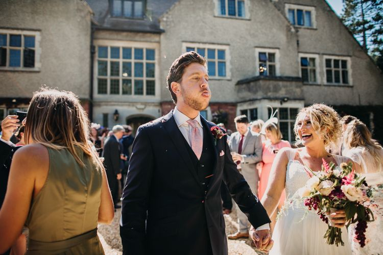 Confetti | Northamptonshire wedding at Plum Park Hotel | Wtoo by Watters from Serendipity Brides | Spindleberry Flowers | Photography by Ania Ames