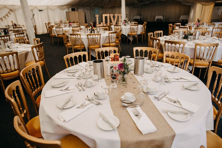 Table Decor | Northamptonshire wedding at Plum Park Hotel | Wtoo by Watters from Serendipity Brides | Spindleberry Flowers | Photography by Ania Ames