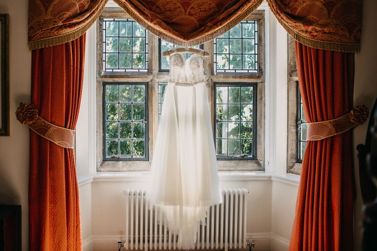 The Dress | Northamptonshire wedding at Plum Park Hotel | Wtoo by Watters from Serendipity Brides | Spindleberry Flowers | Photography by Ania Ames