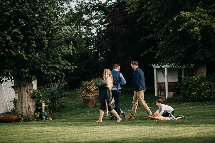 Cheeky little guests | Northamptonshire wedding at Plum Park Hotel | Wtoo by Watters from Serendipity Brides | Spindleberry Flowers | Photography by Ania Ames