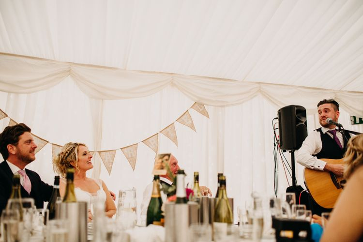 Speeches | Northamptonshire wedding at Plum Park Hotel | Wtoo by Watters from Serendipity Brides | Spindleberry Flowers | Photography by Ania Ames