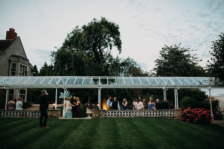 Venue marquee | Northamptonshire wedding at Plum Park Hotel | Wtoo by Watters from Serendipity Brides | Spindleberry Flowers | Photography by Ania Ames