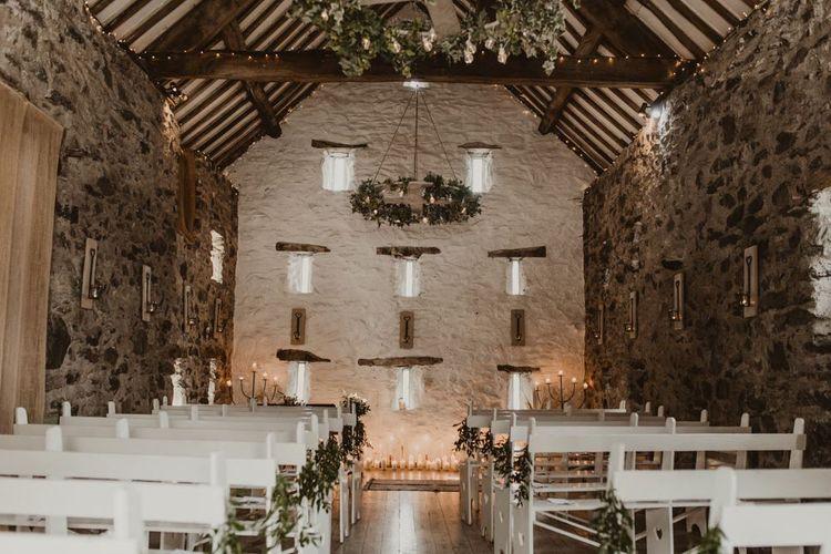 Hafod Farm wedding ceremony