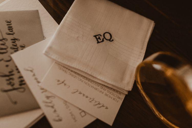 Personalised handkerchief