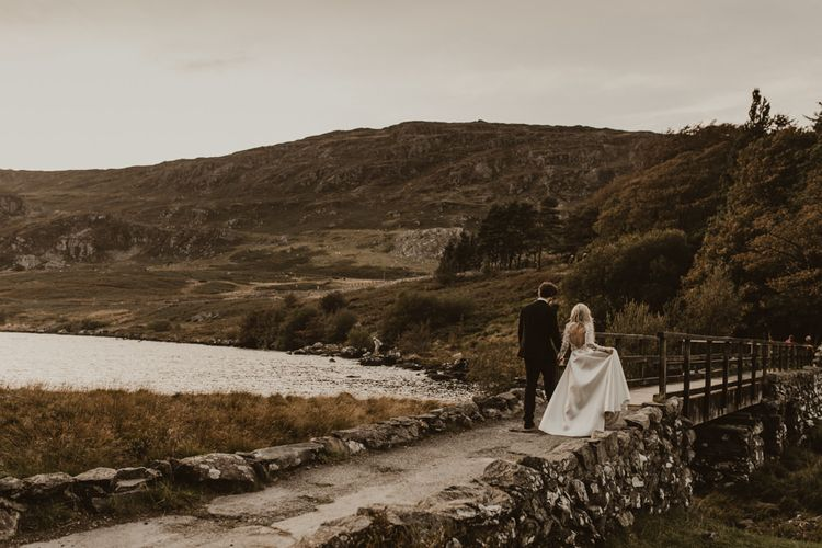 Snowdonia National Park wedding venue Hafod Farm