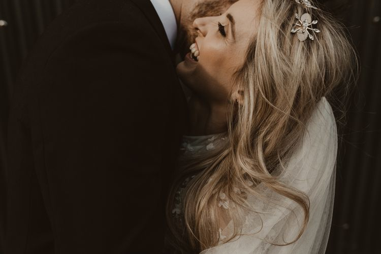 新娘与花卉发型