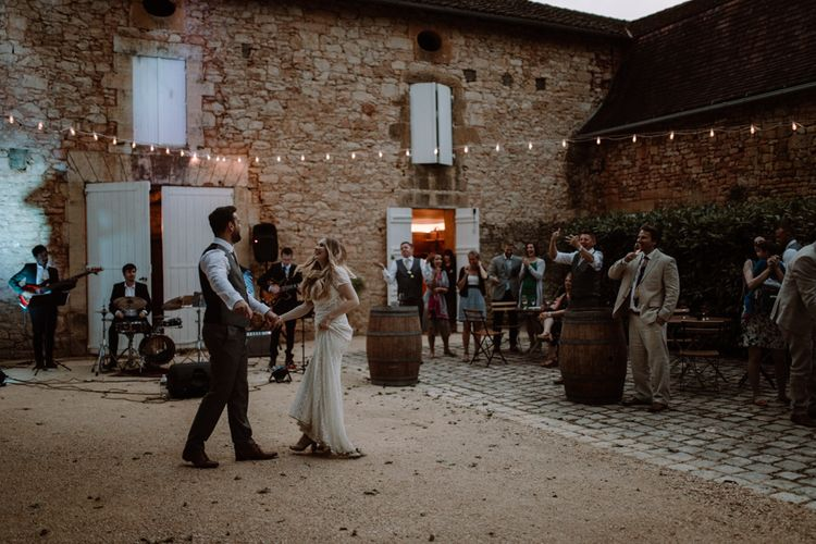 Intimate French Destination wedding