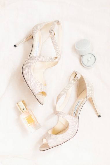 Jimmy Choo Wedding Shoes with Perfume