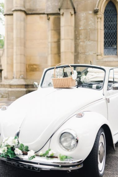 Champagne and Vintage Wedding Transport