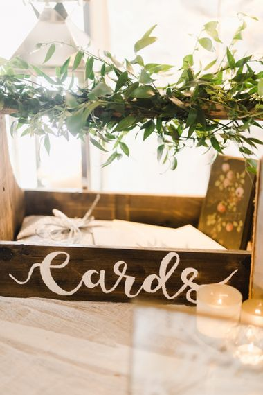 Wooden Card Box for Wedding