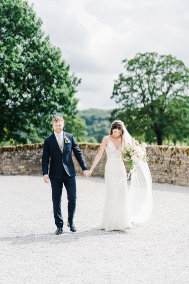 Bride and Groom Portrait at Bolton Abbey