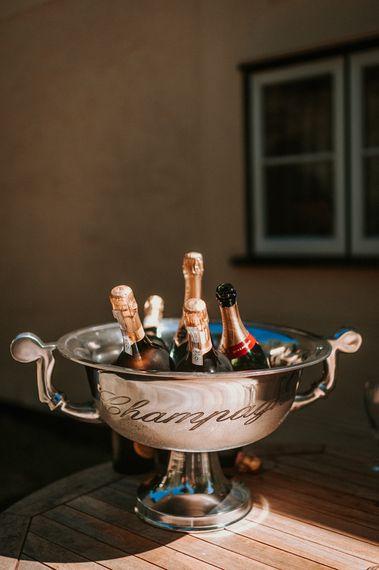 Champagne Bucket & Champagne