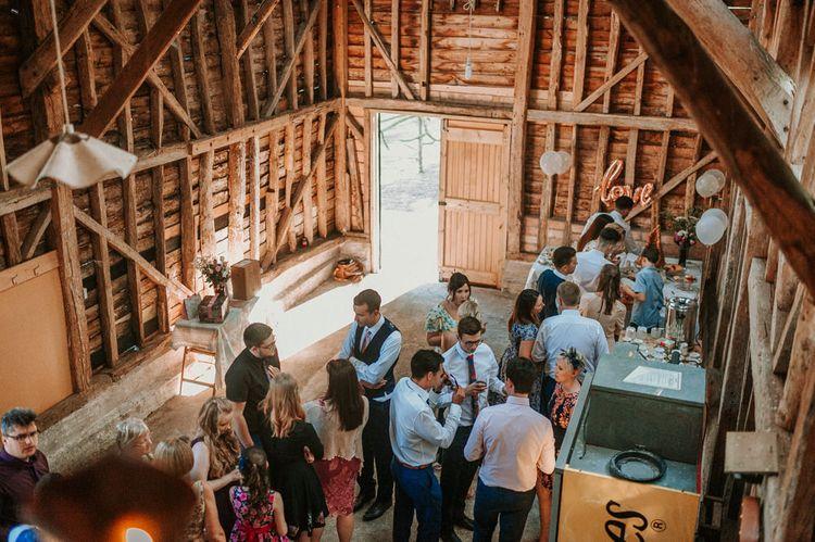 Barn Drinks Reception