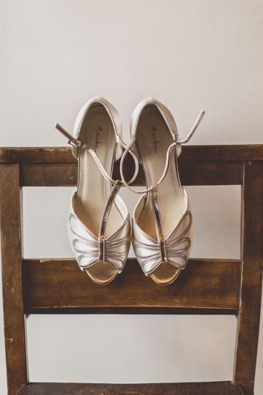 Rainbow Club Wedding Shoes // Rustic Luxe Winter Wedding At Fforest Wales With Bride In Maggie Sottero  And Wellies With Images And Film From WE ARE // THE CLARKES