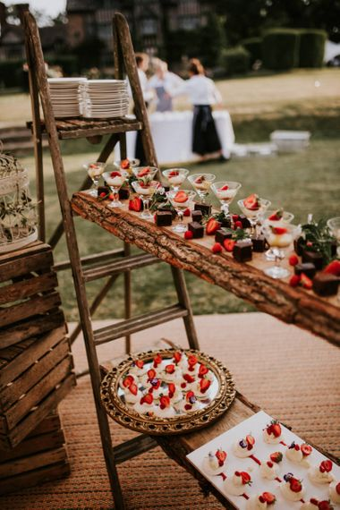 Individual Dessert Table