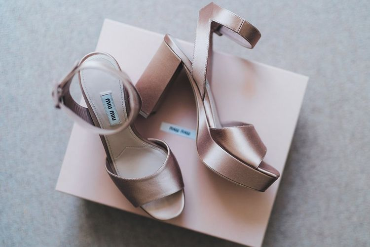 Platform Wedding Shoes by Miu Miu