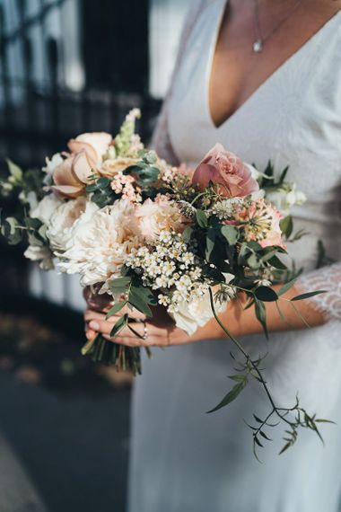 Dusky Pink Pink Wedding Bouquet