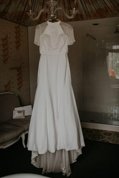 Bespoke Wedding Dress with Cap Sleeves