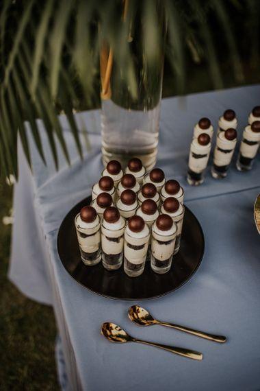 Wedding dessert table at Thailand wedding