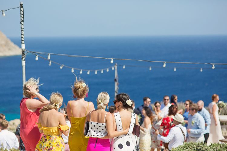 Wedding Guests Outfits at Mykonos Destination Wedding