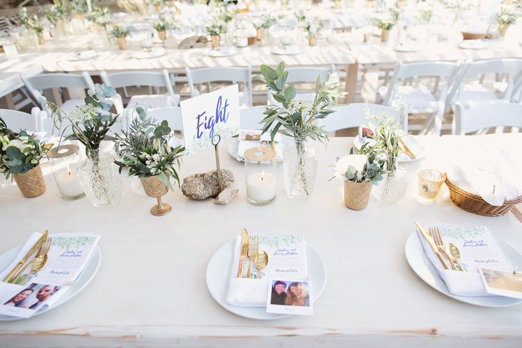 Polaroid Picture Place Name Settings