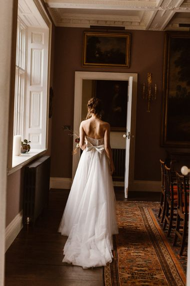 Bow Back Detail Wedding Dress Emma Beaumont Wedding Dress Collection | Bridal Gowns | Stylish Wedding Dresses | Agnes Black Photography