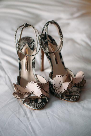 Snake-Effect Sophia Webster Wedding Shoes