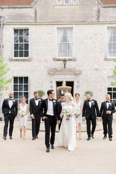 Froyle Park black tie wedding